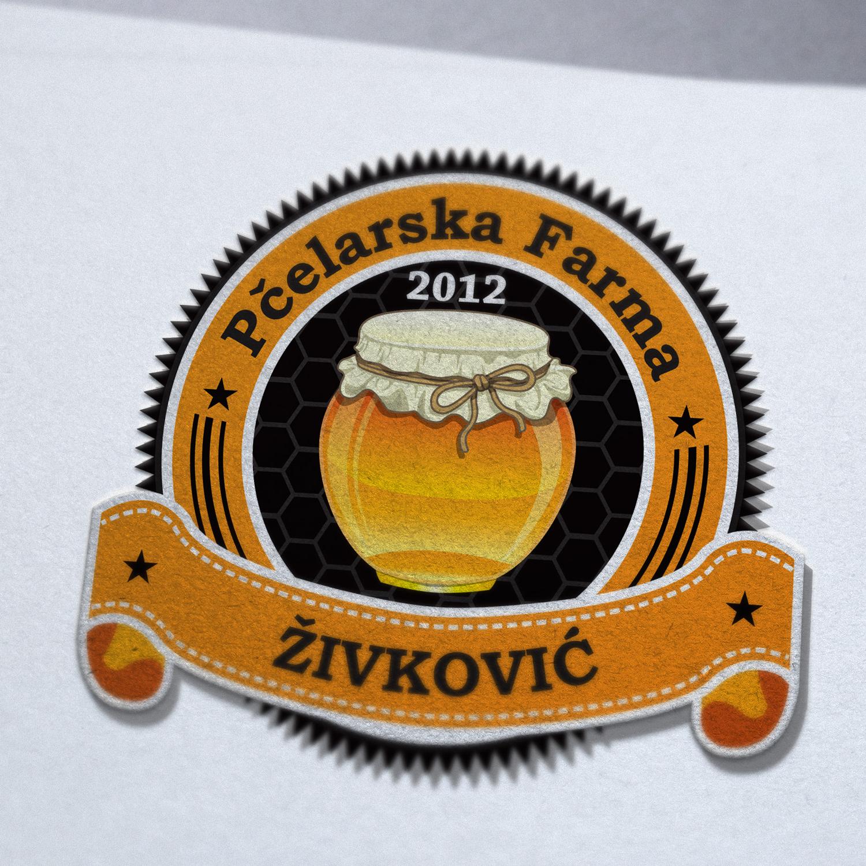 Logo pčelarska farma Živković