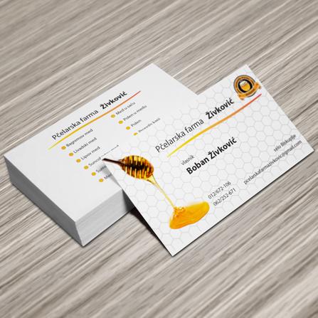Vizit karta Pčelarska farma